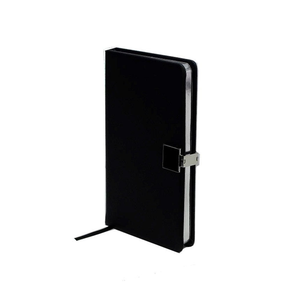 Black & Silver A6 Notebook