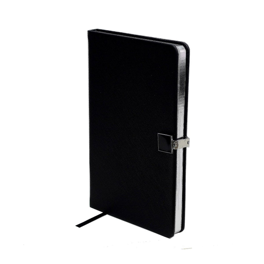 Black & Silver A5 Notebook