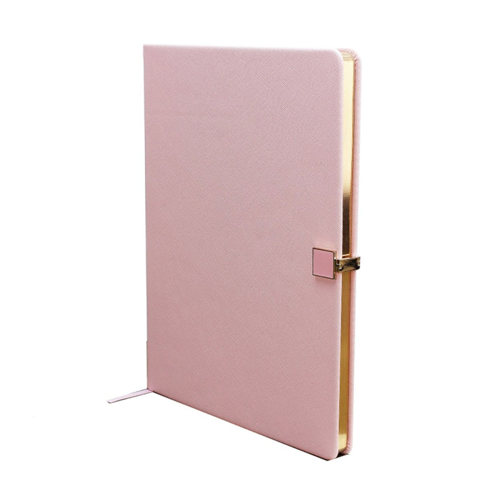 Pink & Gold A4 Notebook