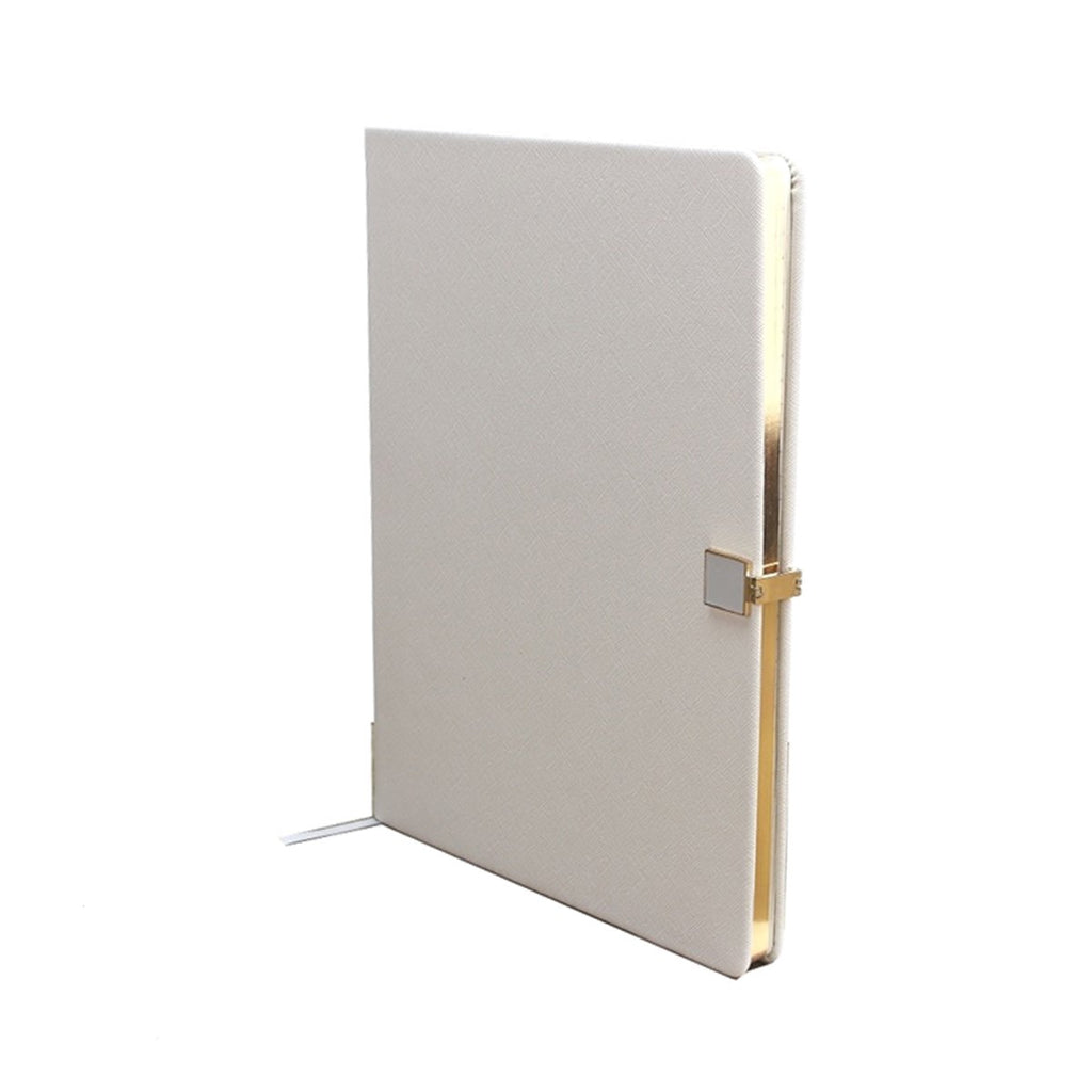 Grey & Gold A4 Notebook