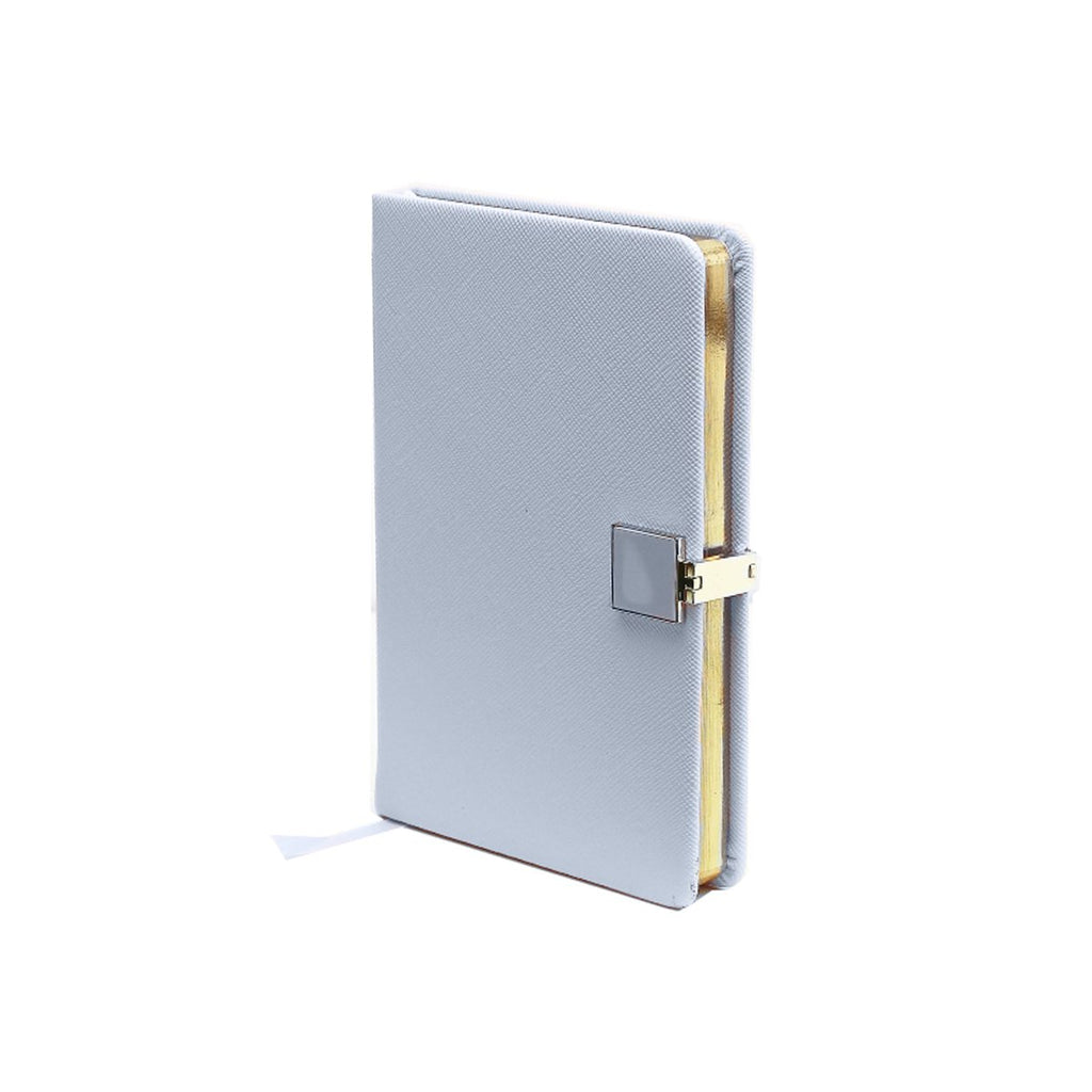 Blue & Gold A6 Notebook