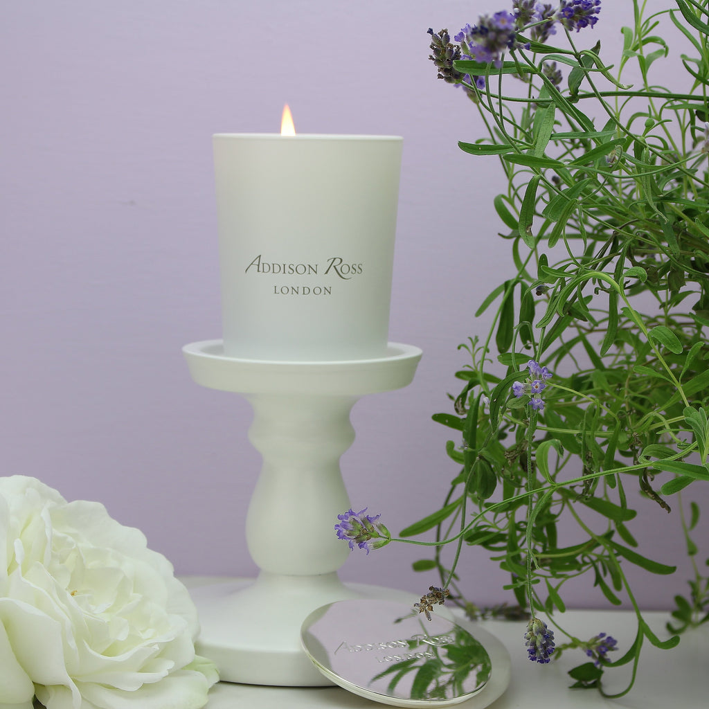 Amalfi White Scented Candle - Fragrance - Addison Ross