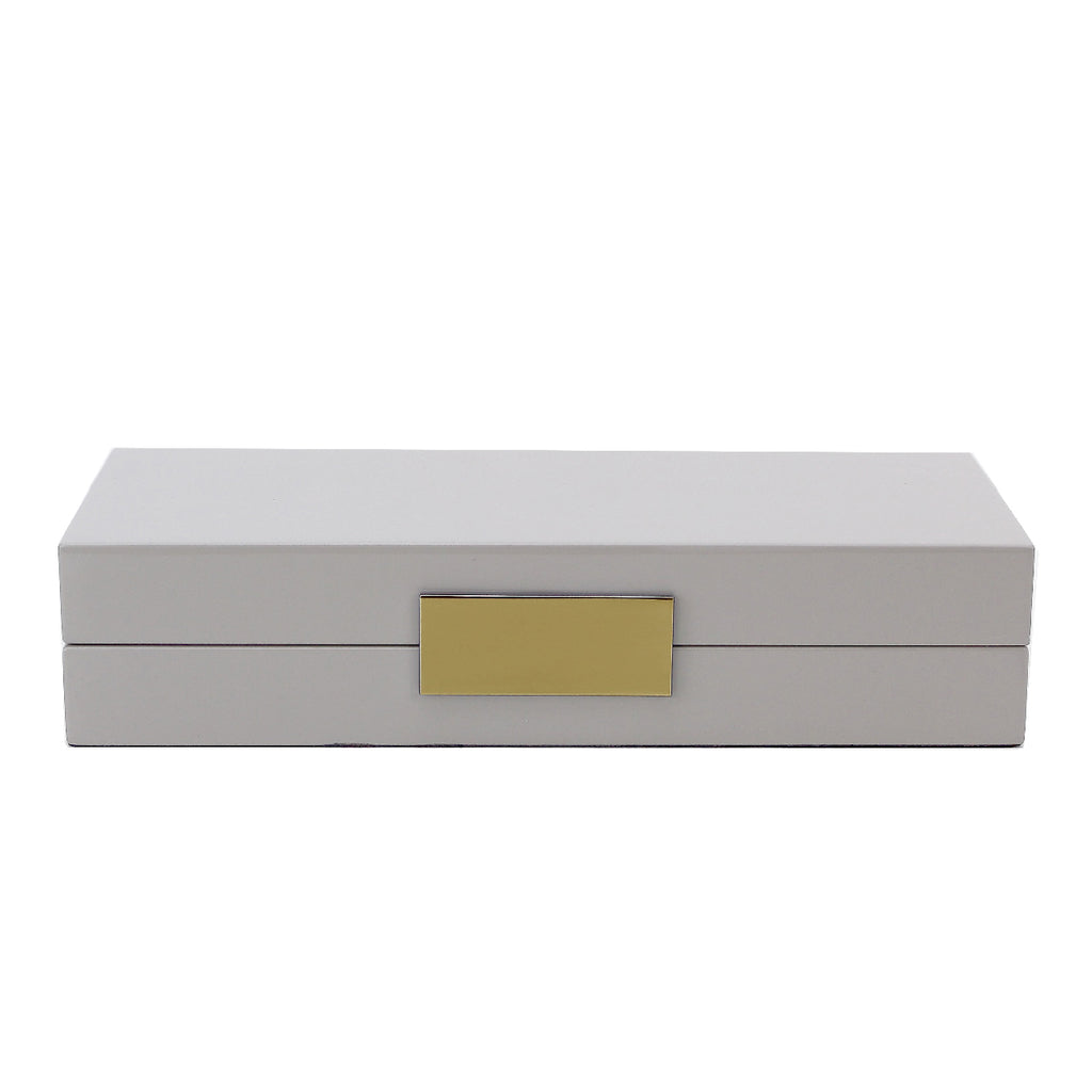 Chiffon Lacquer Box With Gold