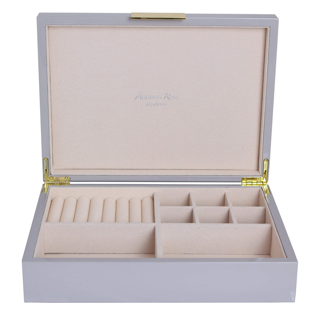 Large Chiffon Jewellery Box with Gold
