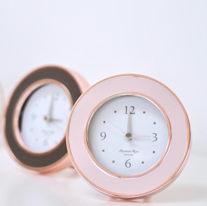 Rose Gold & Pink Alarm Clock - Clock - Addison Ross