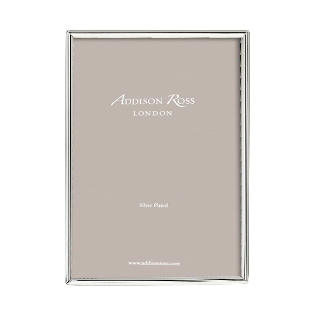 Fine Edged Silver Plated Photo Frame - Silver Frames - Addison Ross