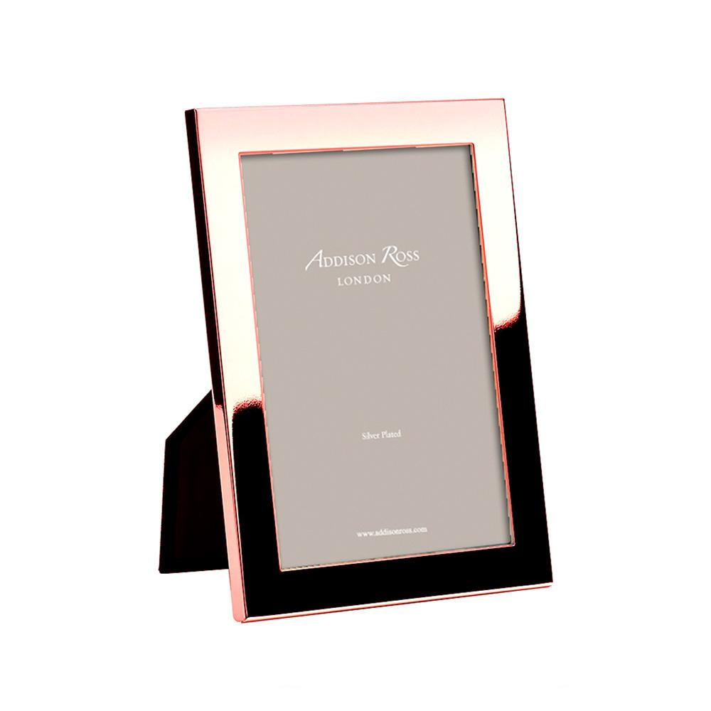 Flat Fronted Rose Gold Photo Frame - Gold Frames - Addison Ross