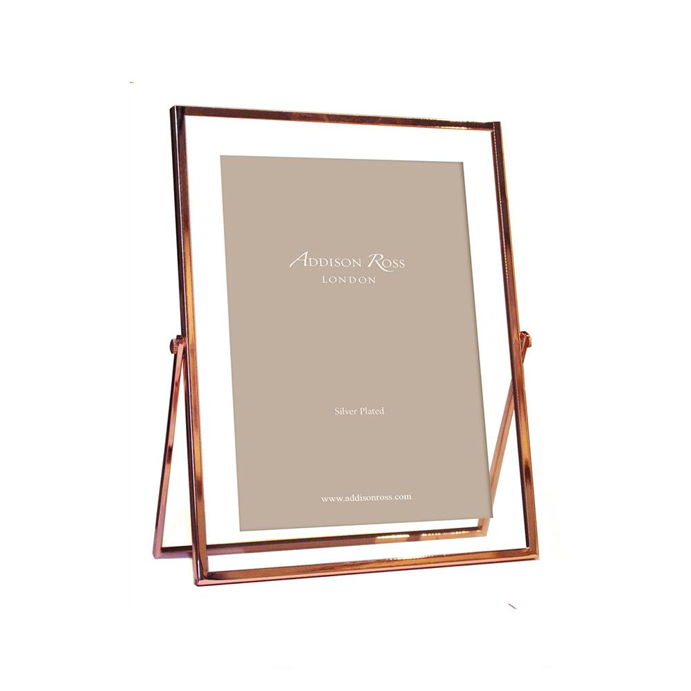 Rose Gold & Glass Photo Frame - Gold Frames - Addison Ross