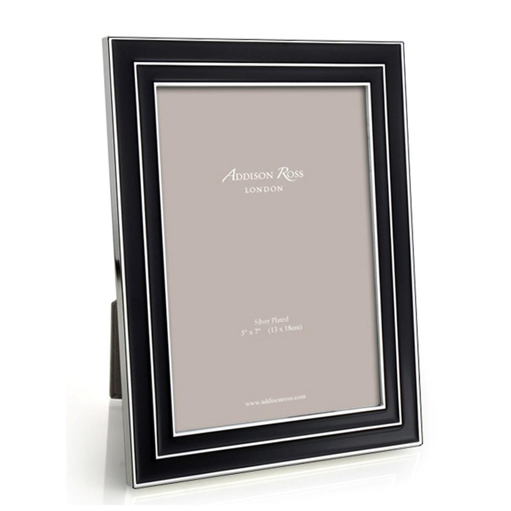 Manhattan Black Enamel Frame