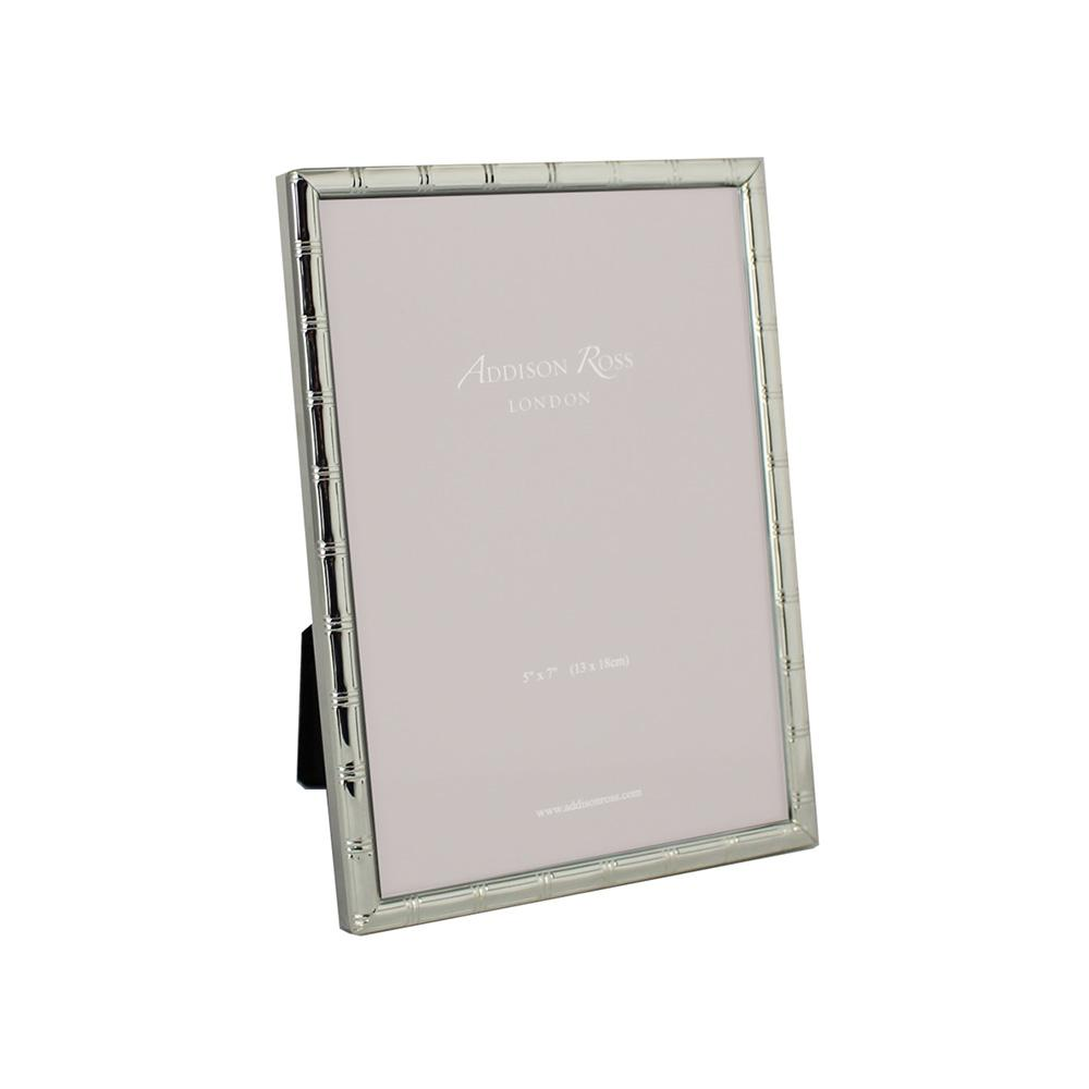 Cane Silver Plated Photo Frame - Silver Frames - Addison Ross