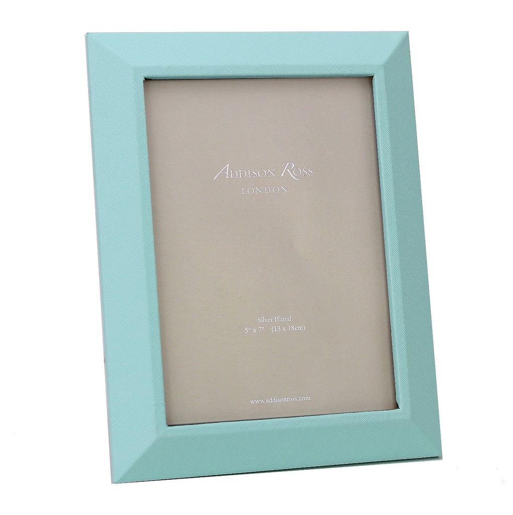 Mint Faux Leather Photo Frame - Leather Frames - Addison Ross