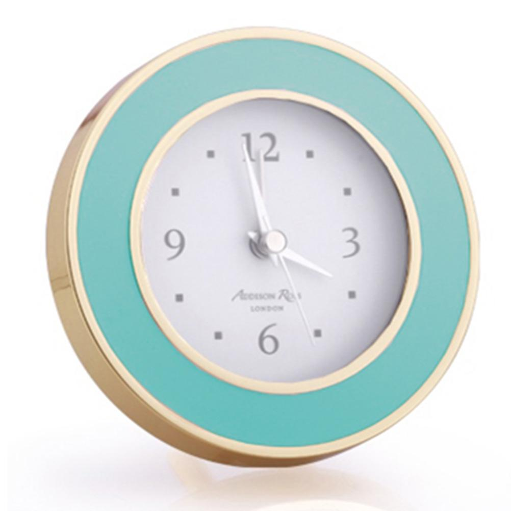 Pastel Blue & Gold Alarm Clock - Clock - Addison Ross