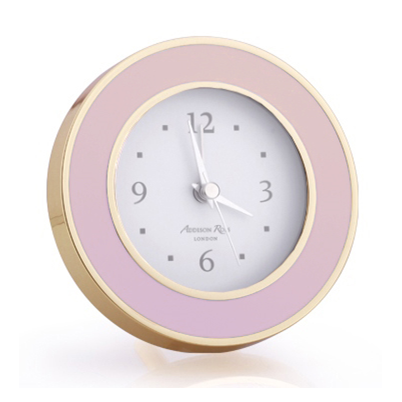 Pastel Pink & Gold Alarm Clock - Clock - Addison Ross