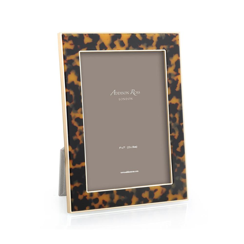 Faux Tortoiseshell & Gold Photo Frame - Exotic Frames - Addison Ross
