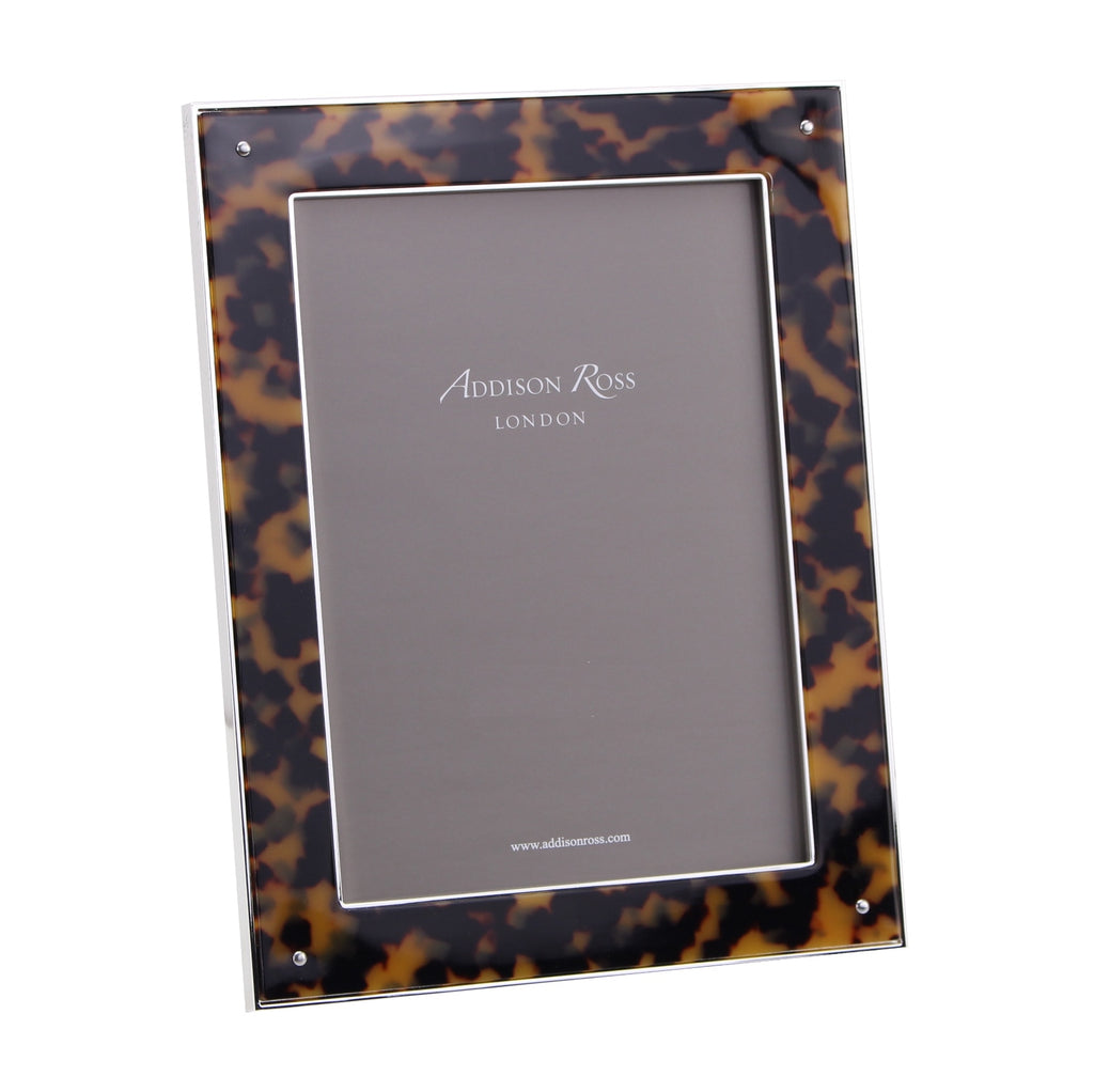 Tortoiseshell & Silver Photo Frame