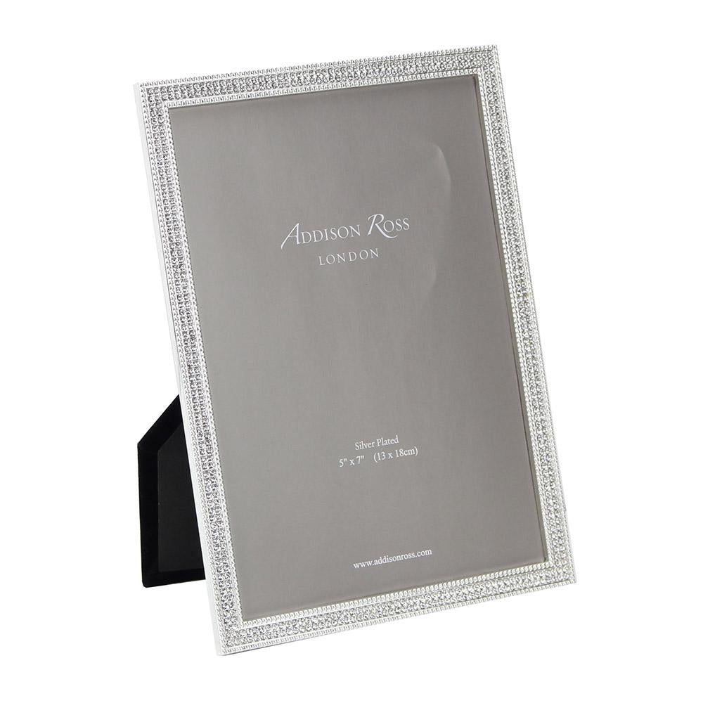 Silver Rosemary Diamante Frame
