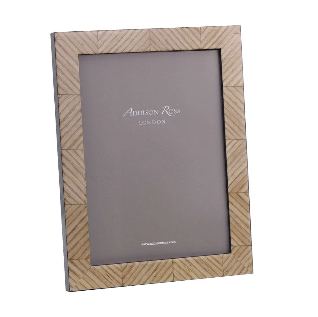 Carla Champagne Marquetry Frame