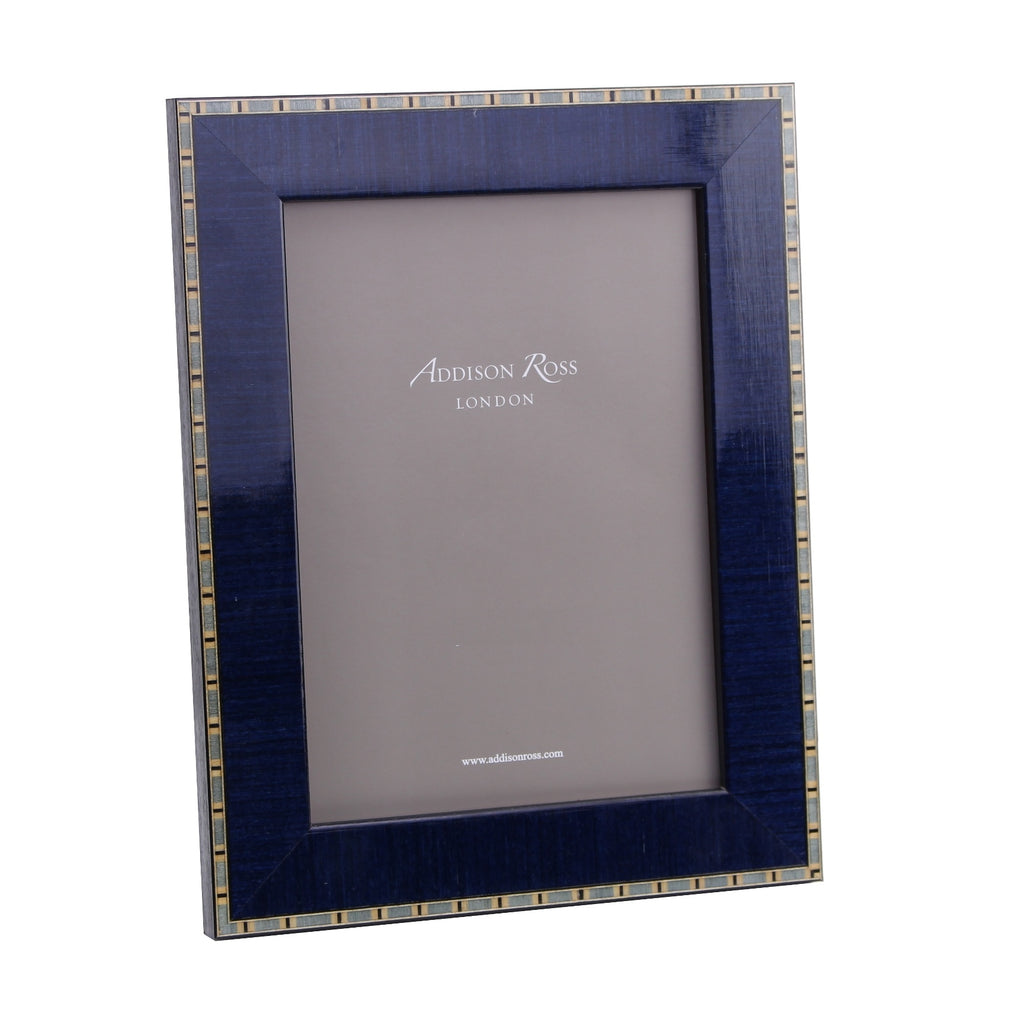 Frise Blue Marquetry Frame