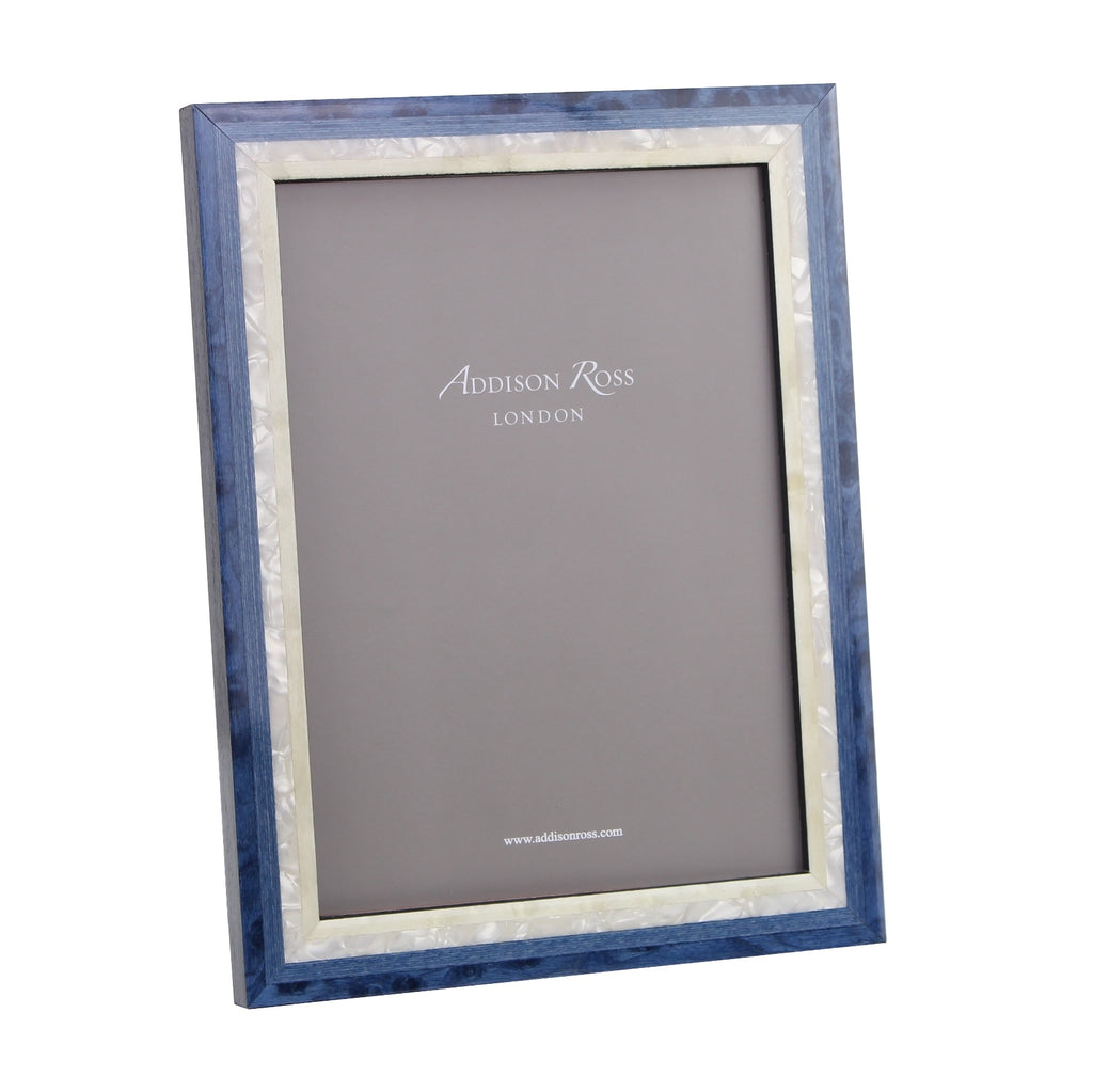 Blue Studio Mother of Pearl Marquetry Frame