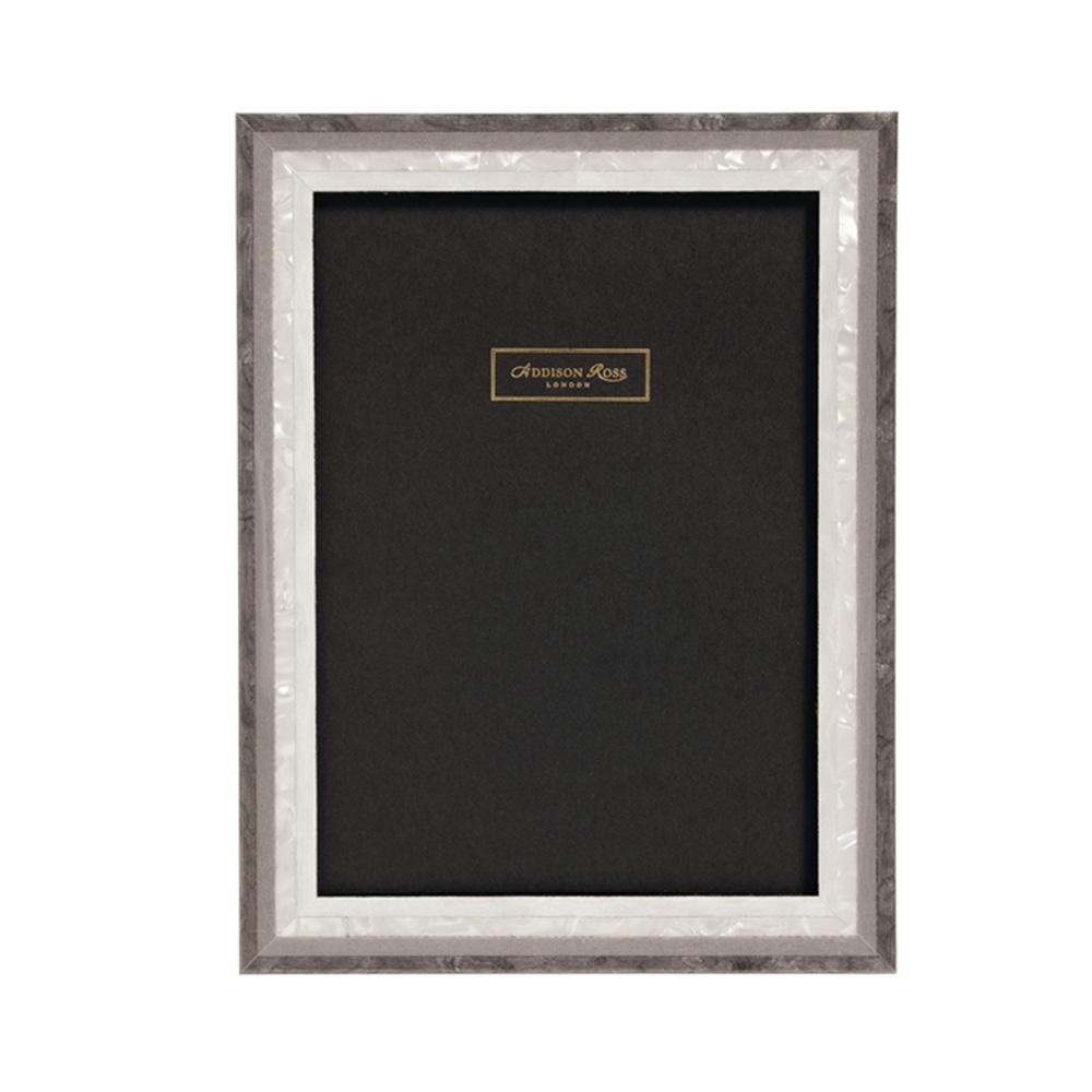 Grey Studio Mother of Pearl Marquetry Frame - Wood Frames - Addison Ross