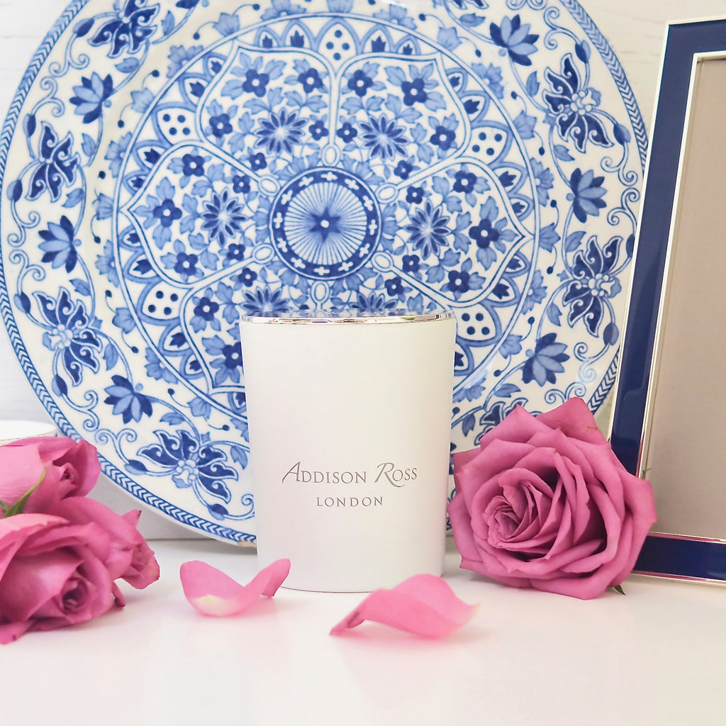 China Blue Scented Candle - Fragrance - Addison Ross