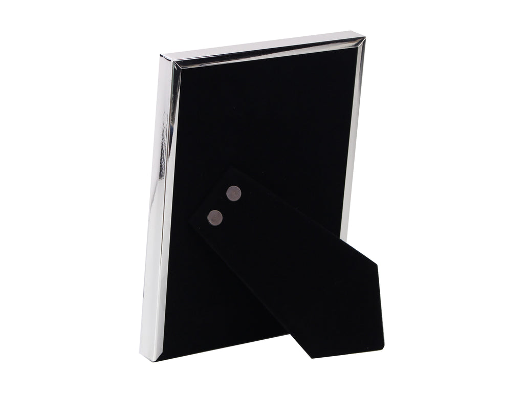 Fine Edged Silver Plated Photo Frame