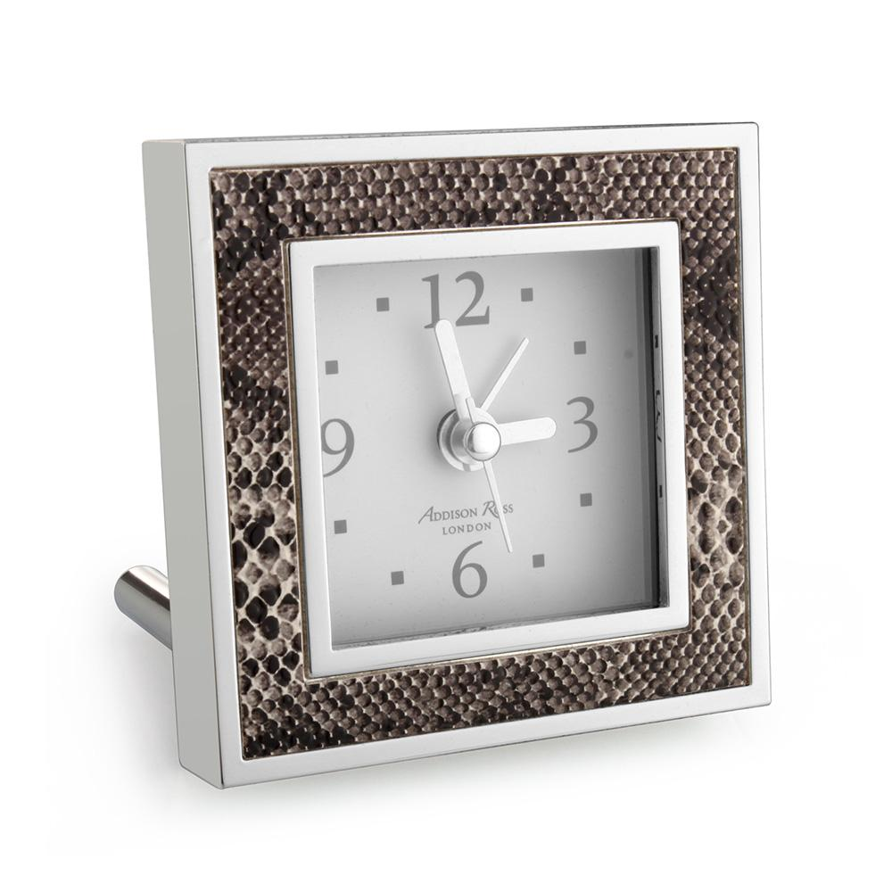 Natural Snake Square Alarm Clock - Clock - Addison Ross