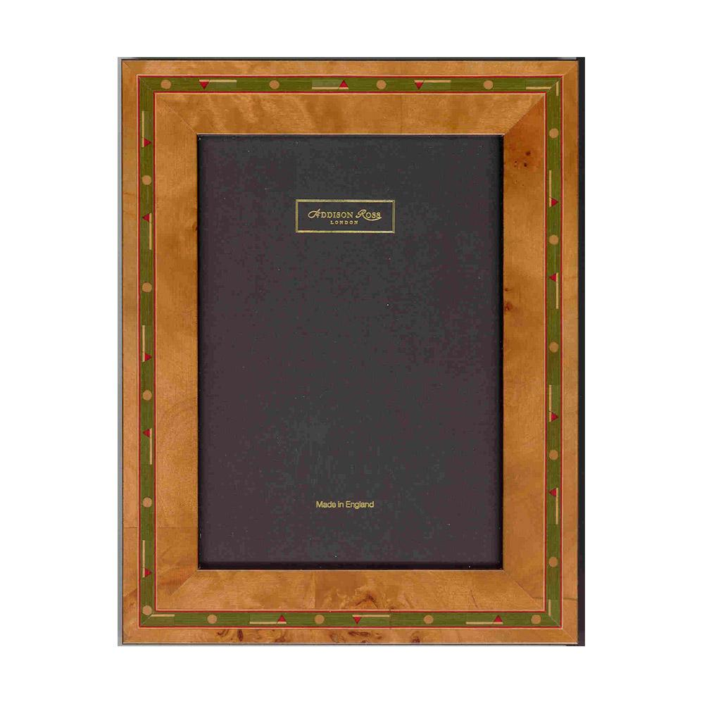 Brown Golf Marquetry Frame - Wood Frames - Addison Ross