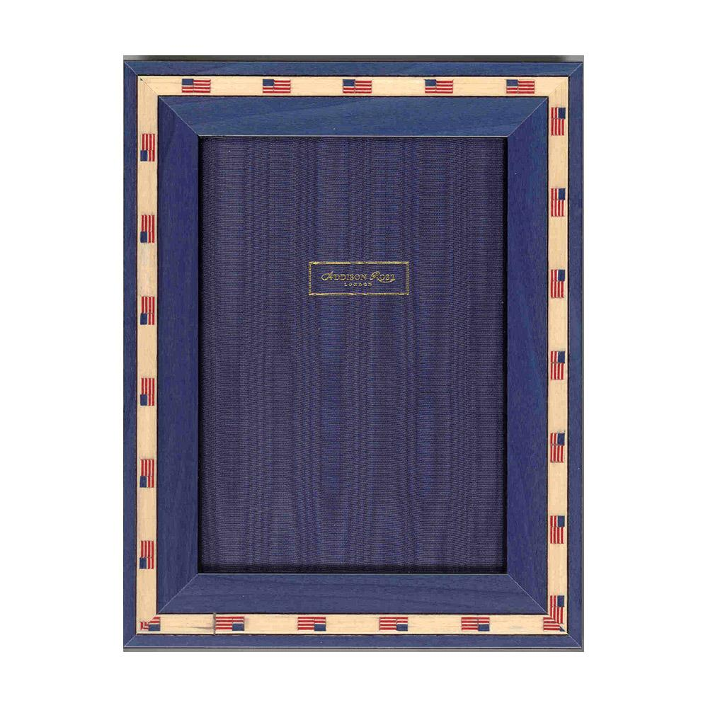 Stars & Stripes Marquetry Frame - Wood Frames - Addison Ross