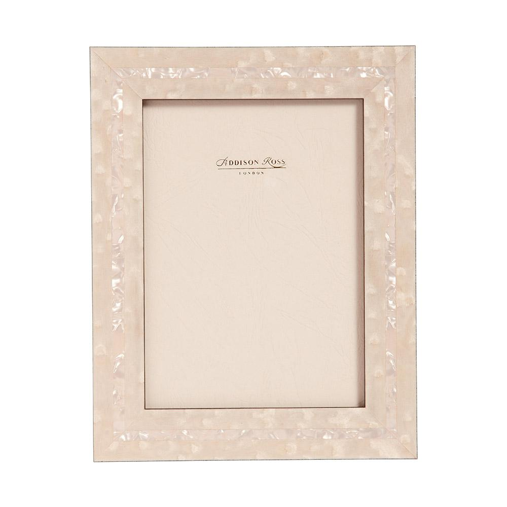 Bianco Mother of Pearl Marquetry Frame - Wood Frames - Addison Ross