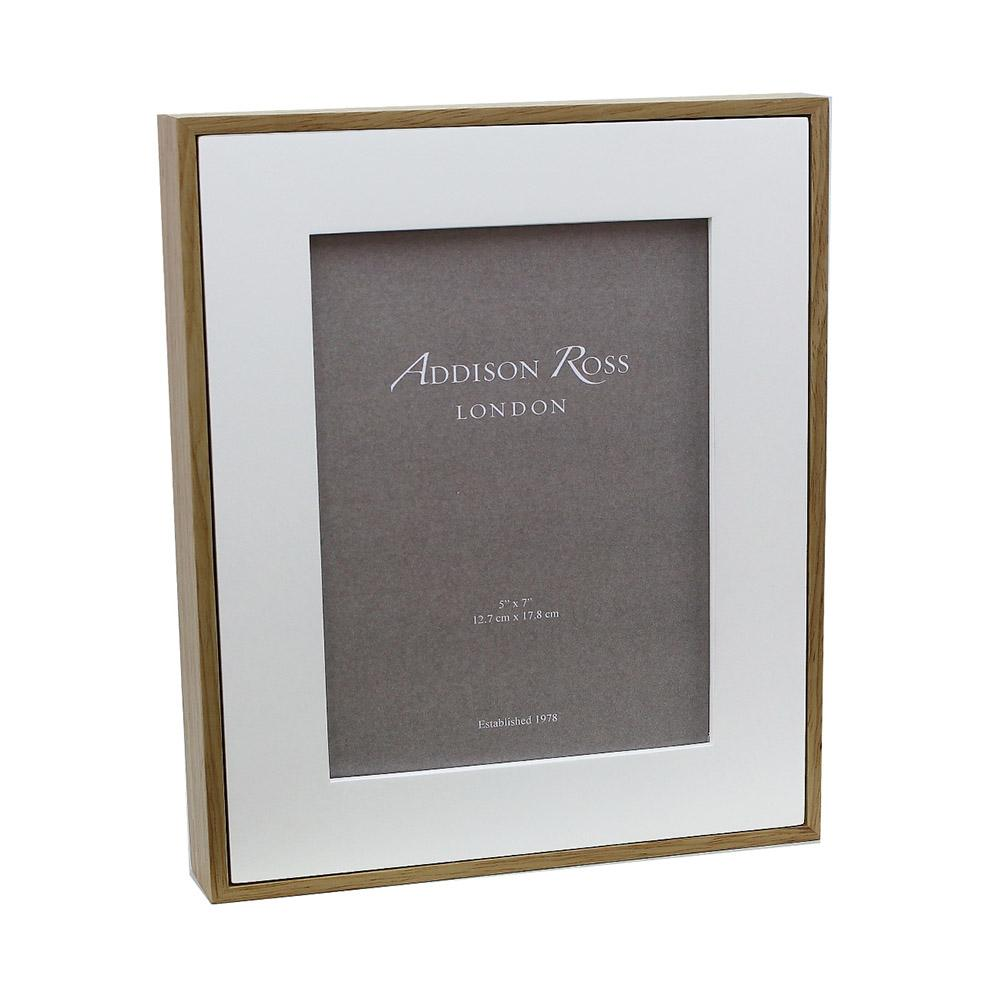 White Rubberwood Photo Frame - Wood Frames - Addison Ross