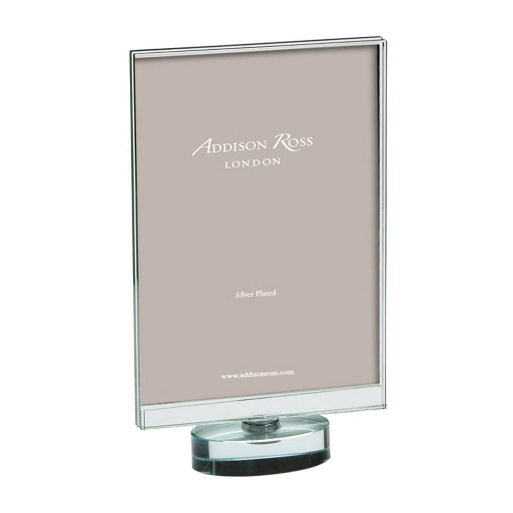 Rotating Portrait Glass Photo Frame - Glass Frames - Addison Ross