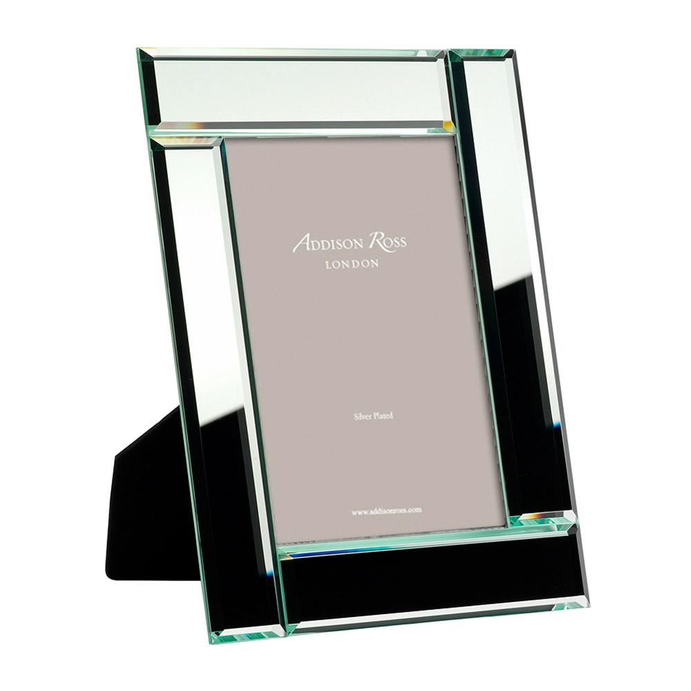 Geometrical Mirror Photo Frame - Glass Frames - Addison Ross