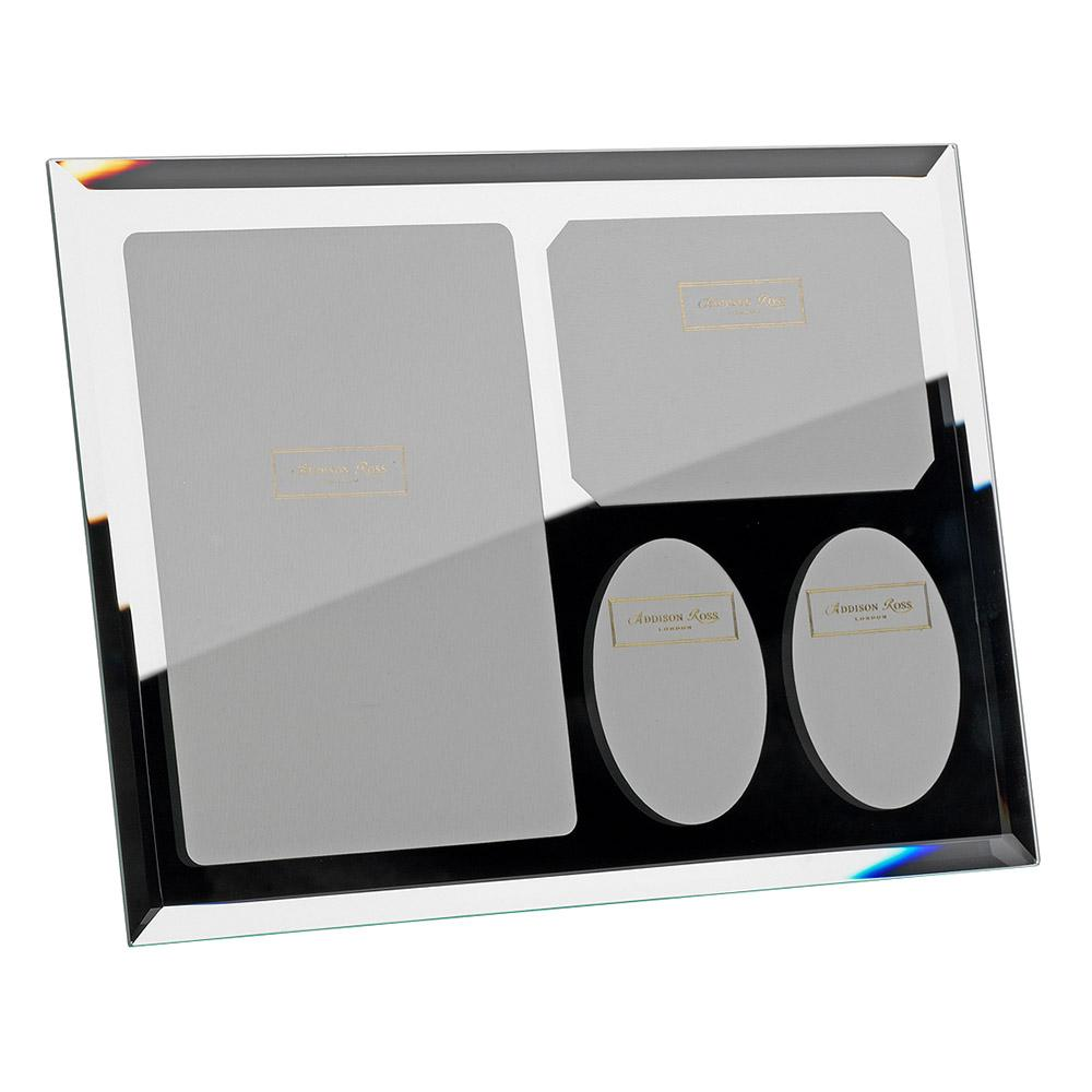 Multi Aperture Mirror Photo Frame - Glass Frames - Addison Ross