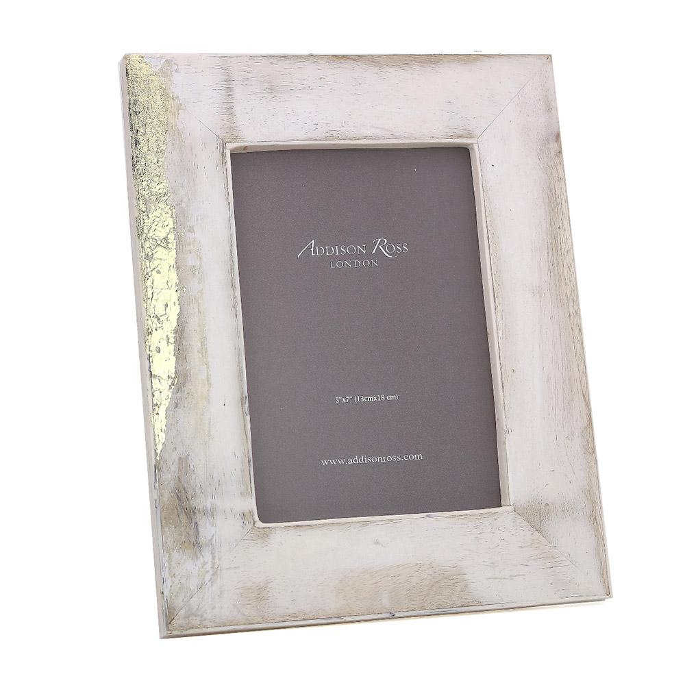 Mango Wood Bone 5 x 7 Photo Frame - Exotic Frames - Addison Ross