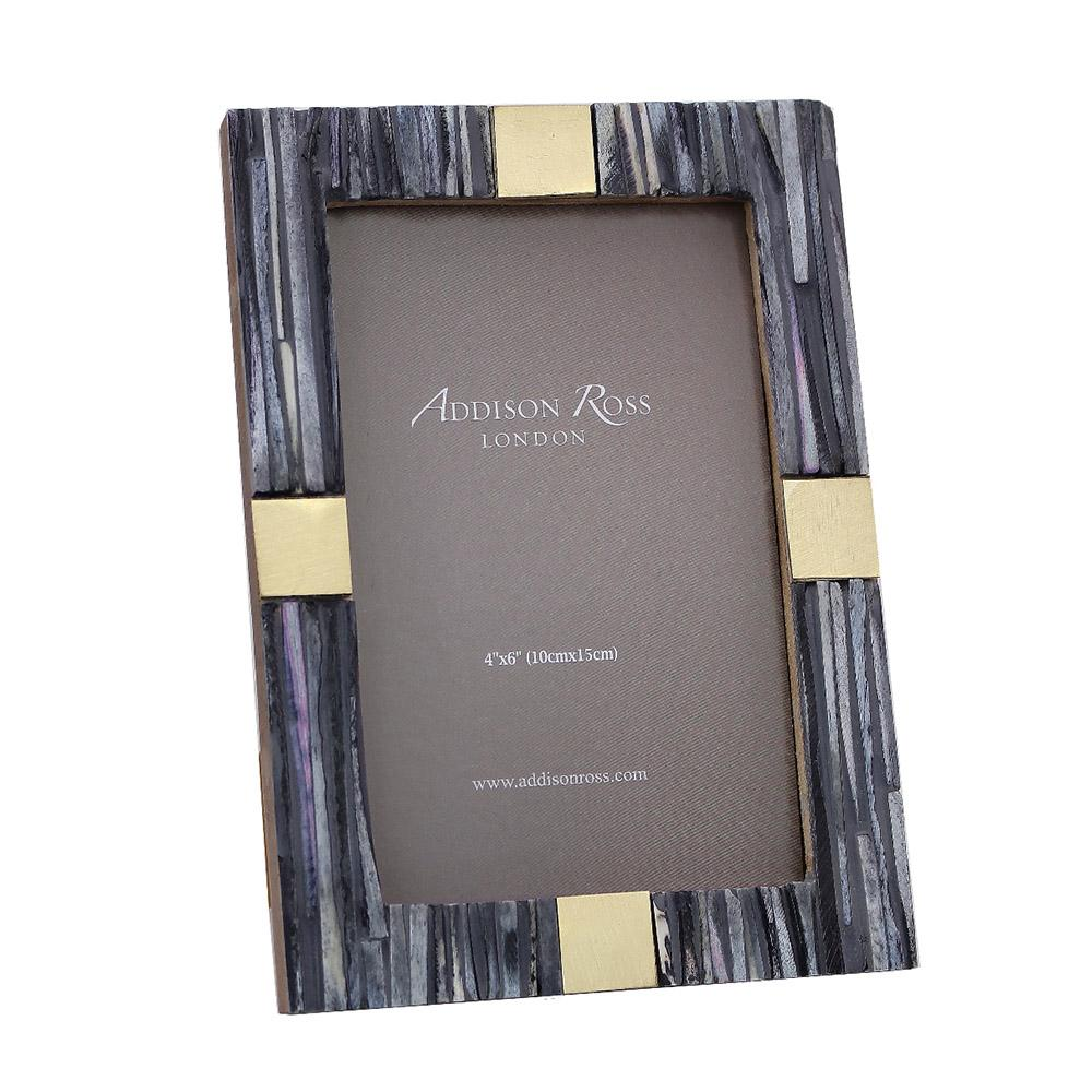 Grey Bone 4 x 6 Photo Frame - Exotic Frames - Addison Ross