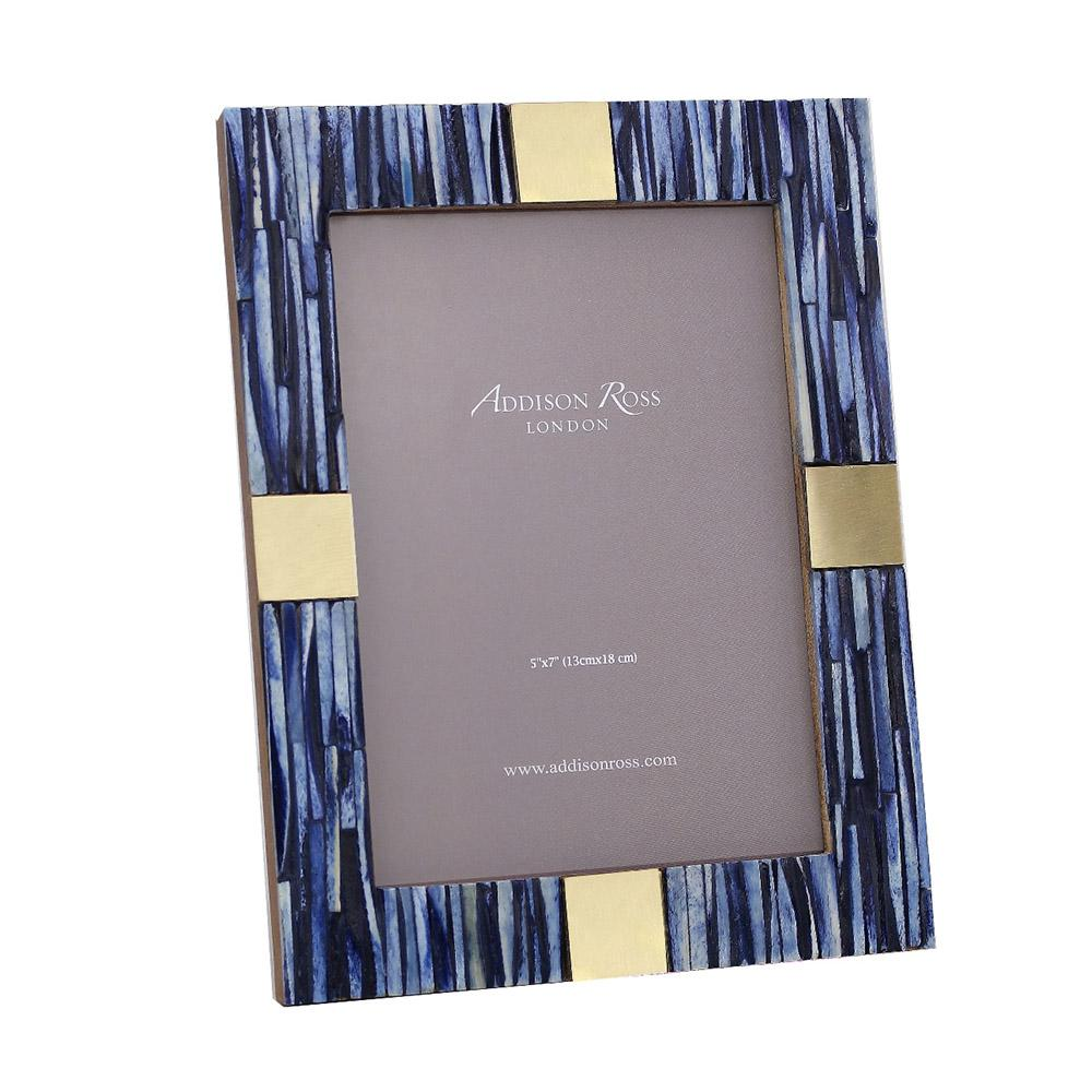 Blue Bone Photo Frame - Exotic Frames - Addison Ross