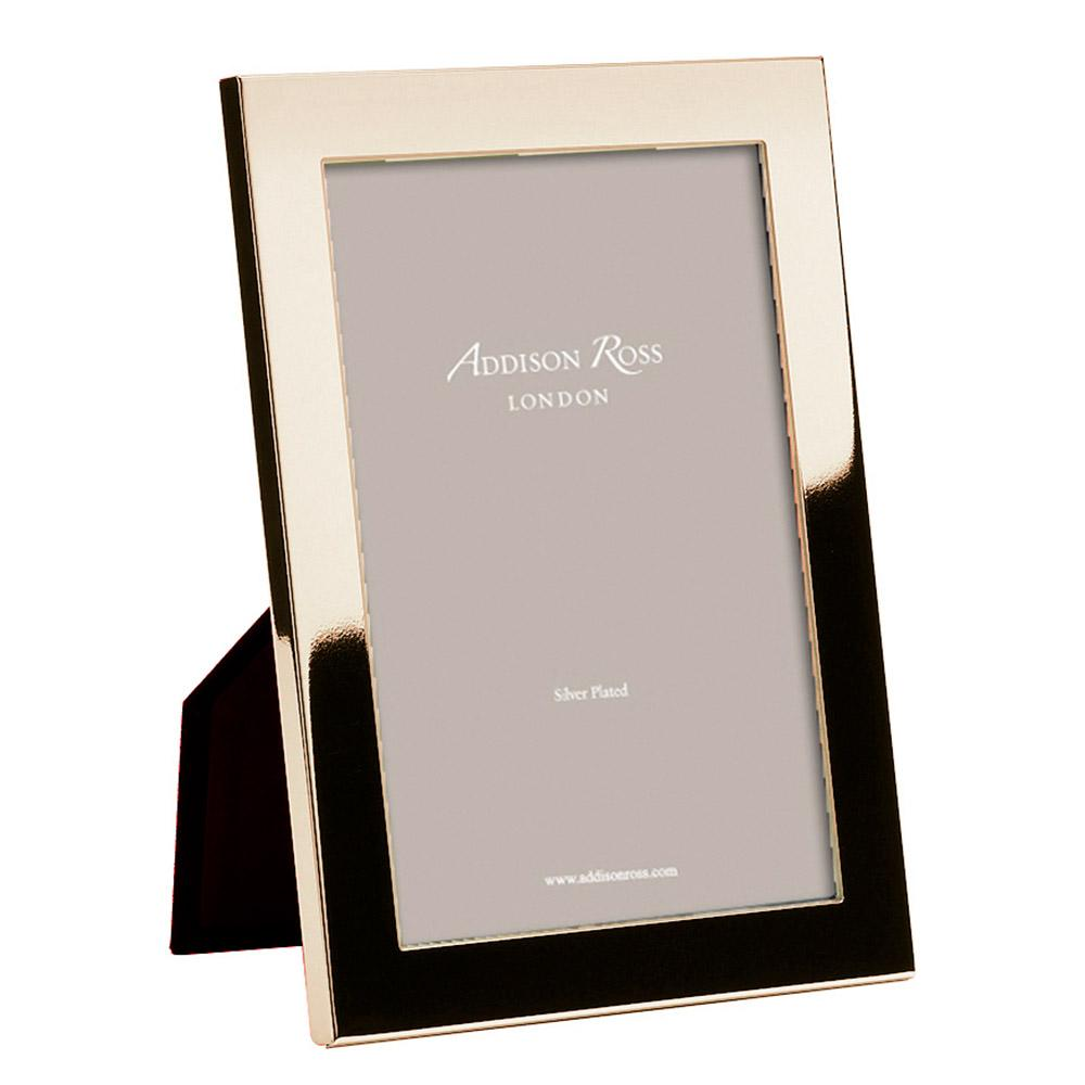 Gloss Gold Plated Frame with Square Corners