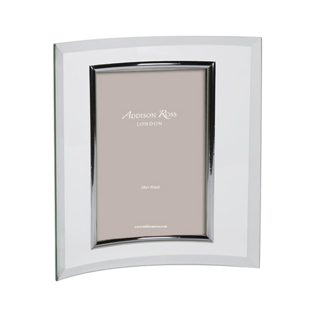 Curved Glass Portrait Photo Frame - Glass Frames - Addison Ross