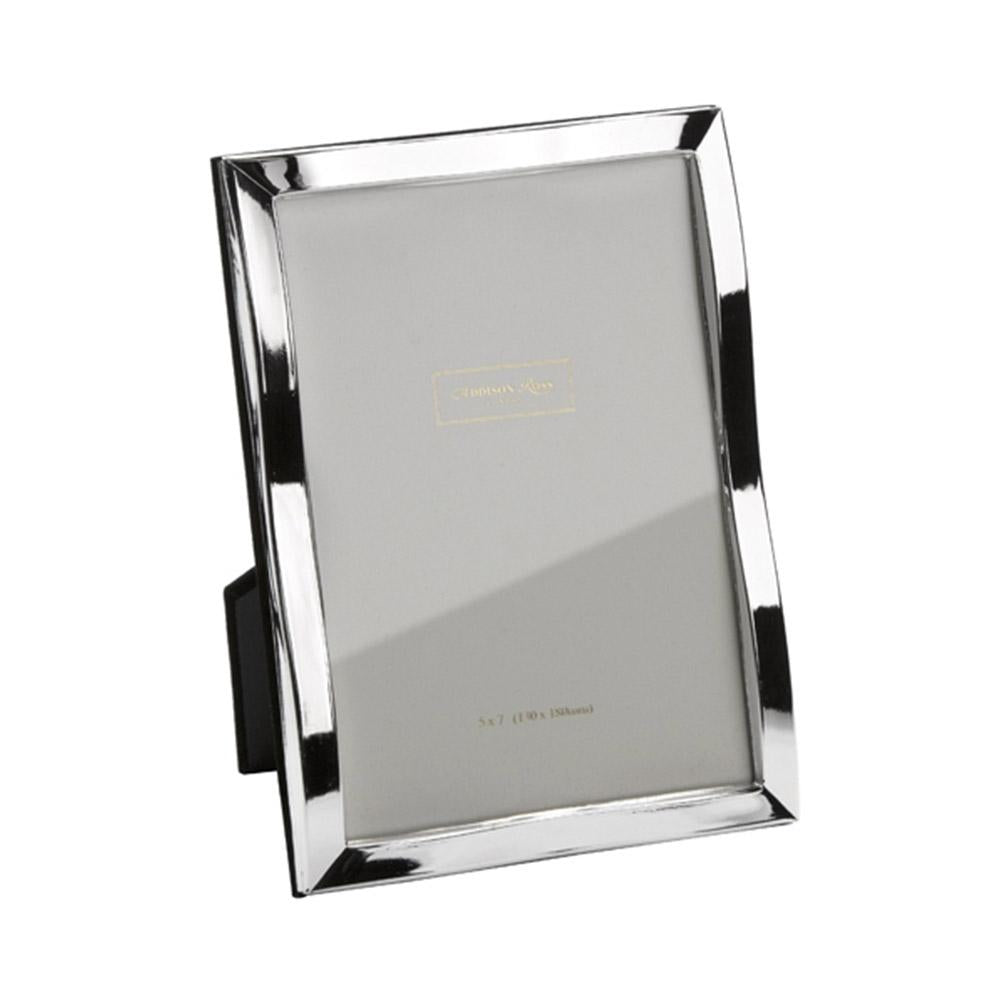 Silver Plate Wave Photo Frame - Silver Frames - Addison Ross
