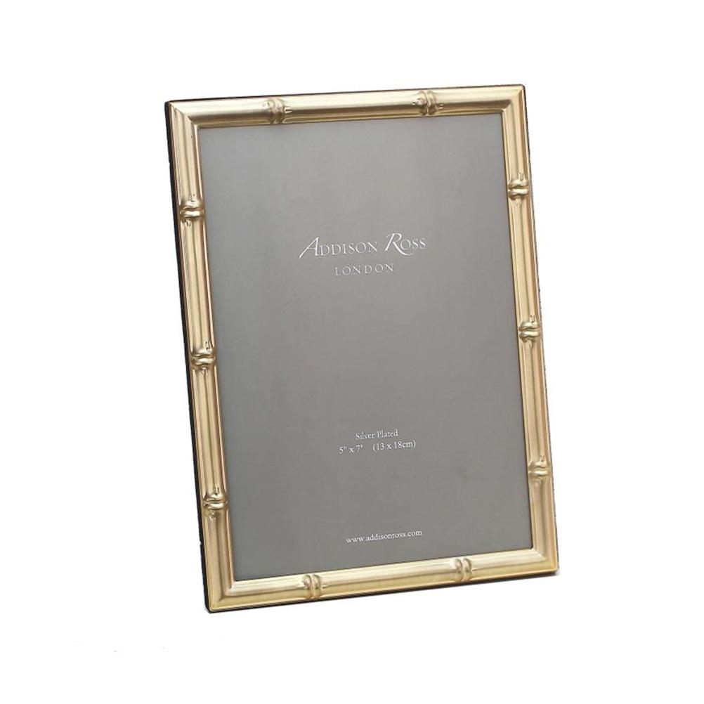 Bamboo Matte Gold Photo Frame | Addison Ross