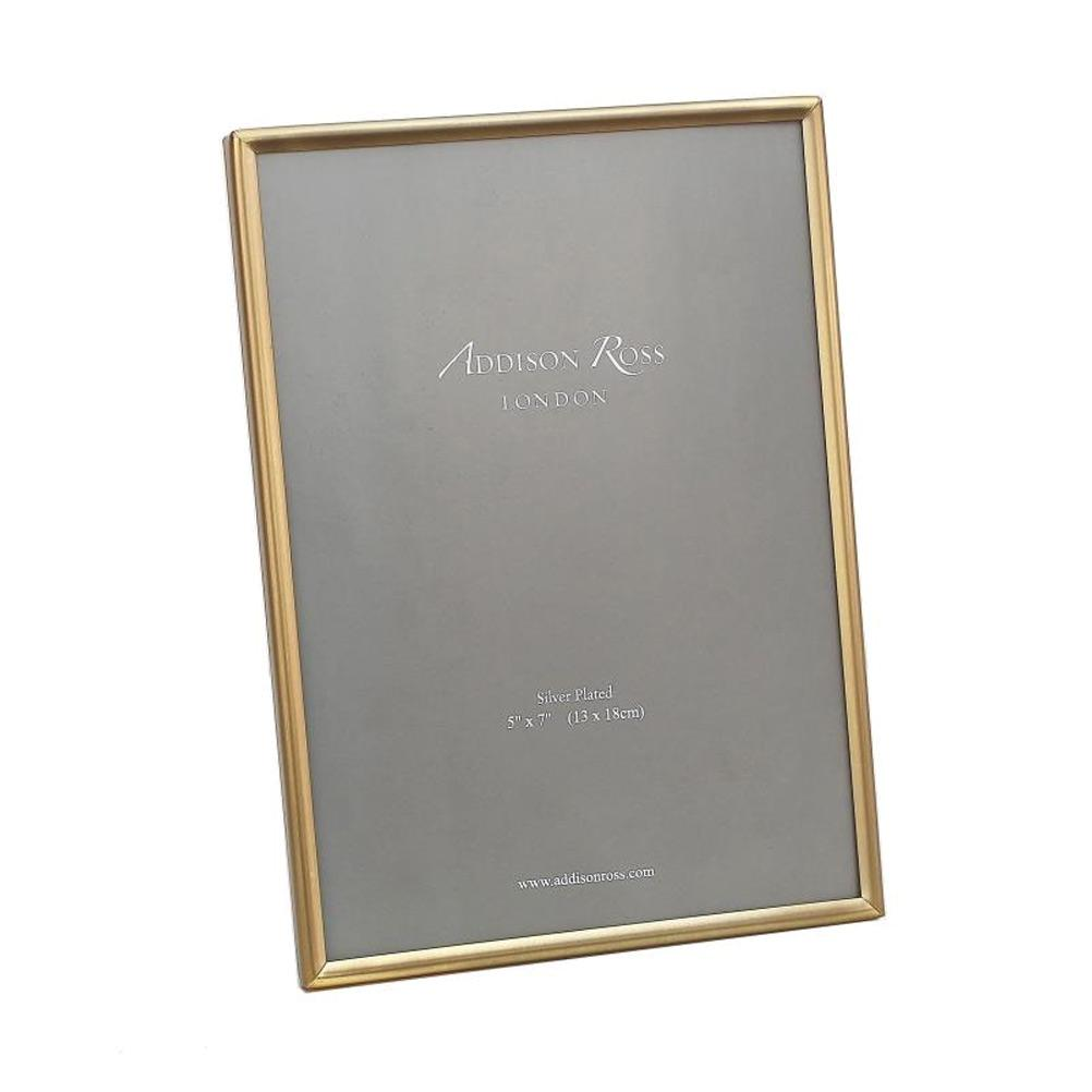 Fine Matte Gold Photo Frame