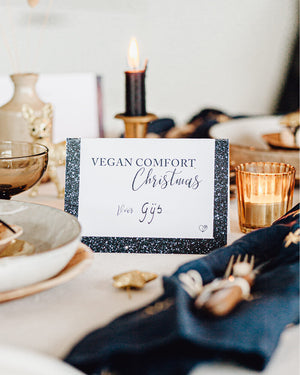 Vegan Comfort Christmas menu