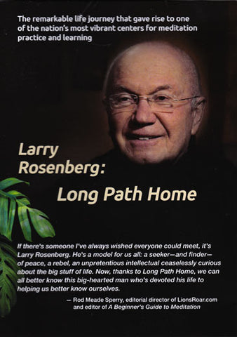 Larry Rosenberg: LONG PATH HOME DVD