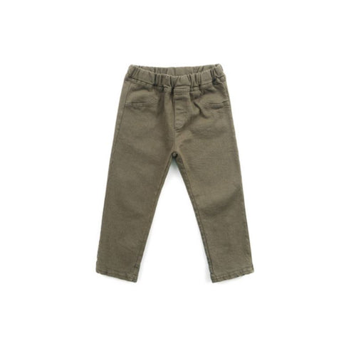 Explorer Khaki Denim Basics Chou La La Fashion 6Y