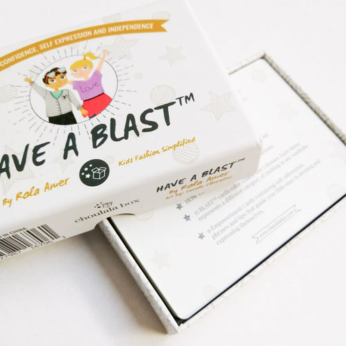BLAST™ Flash Cards Chou La La Fashion Inc.
