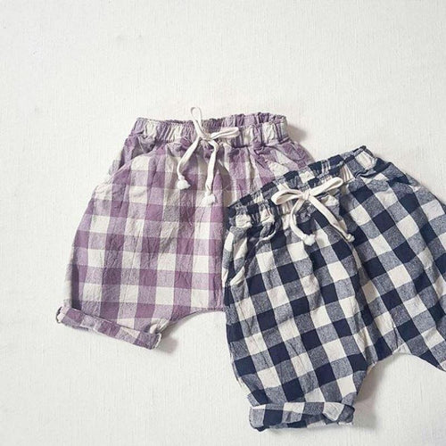 Benny Black Check Pants Basics Chou La La Fashion Inc.