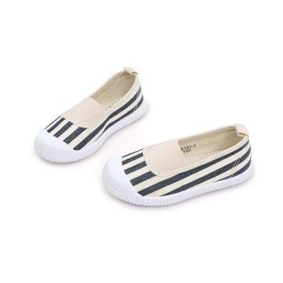 Harper Black and White Slip-Ons Basics Chou La La Fashion Inc.