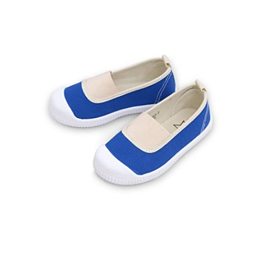 Keegan Duck Blue Slip Ons Basics Chou La La Fashion Inc.