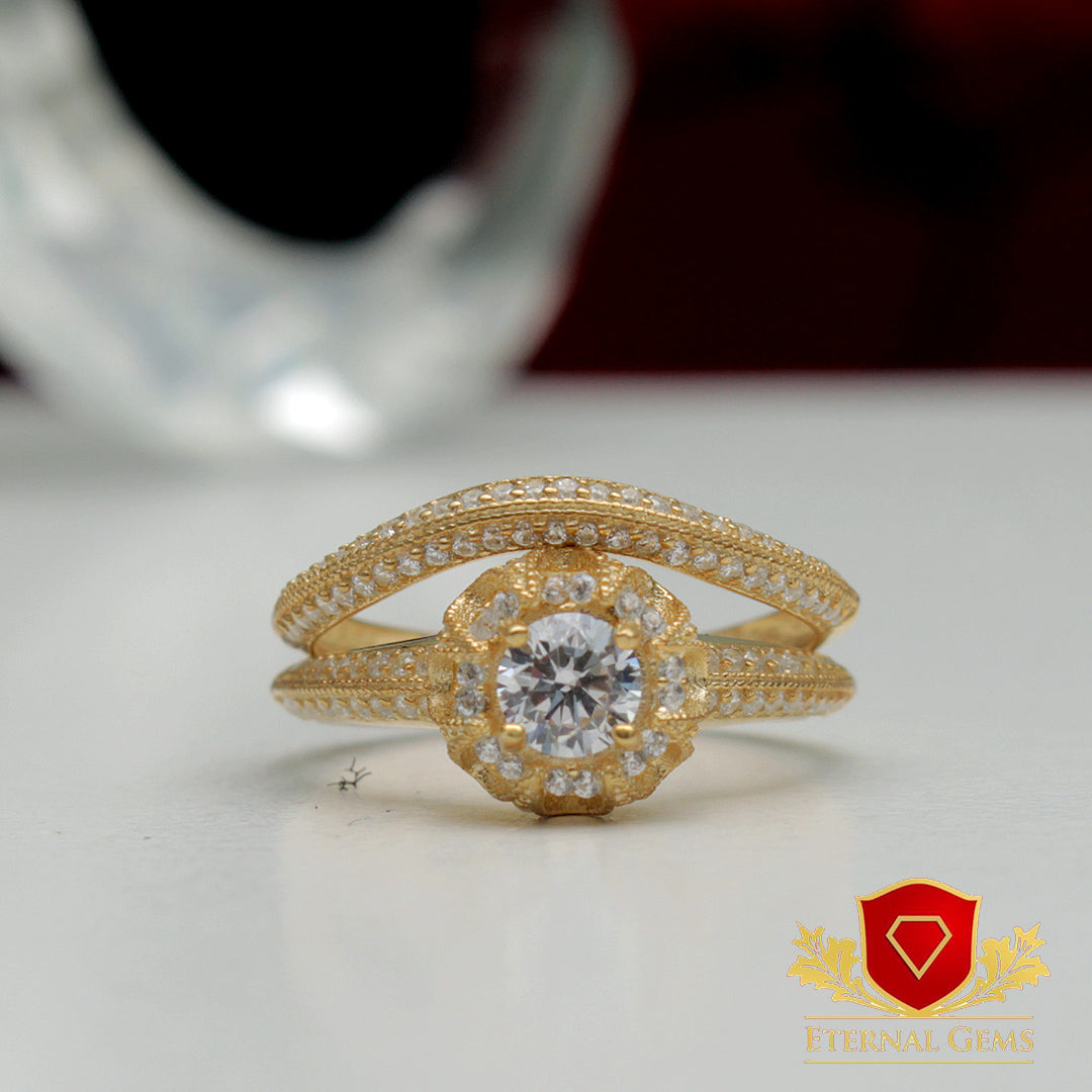 Different types of wedding rings on sale at Eternal Gems